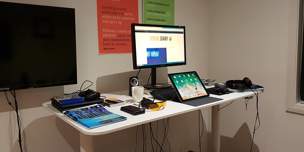 Standing desk biohacks