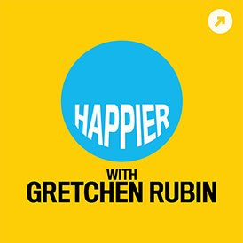 Happier with Gretchin Rubin Cover