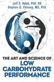 The Art and Science of Low Carbohydrate Performance Front Cover